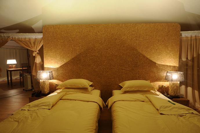 房间小帐篷手绘
